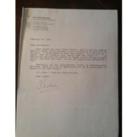 Lettre de Barbara Kirshenblatt-Ginblet du 20/02/95