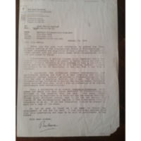 Fax  de Barbara Kirshenblatt-Ginblet du 26/01/1995